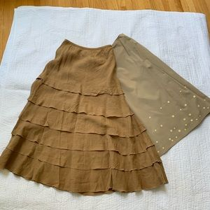 2 Summer skirt, pencil and flare